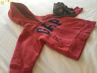 For Sale: Toddlers Clothing Set w/ Baby Gap Jacket & Pablosky Leather Shoes