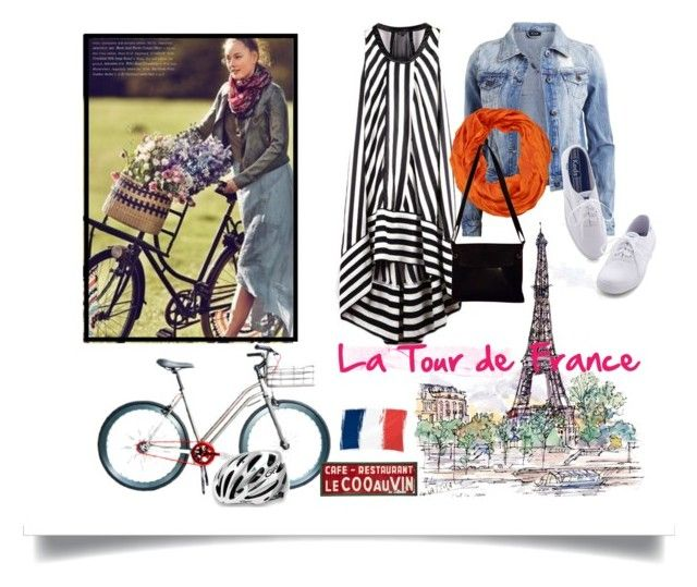 Riding With Style by dressmeup365 on Polyvore featuring polyvore, fashion, style, VILA, Keds, Bottega Veneta, AtStyle247, Jayson Home, Martone Cycling Co. and Giro