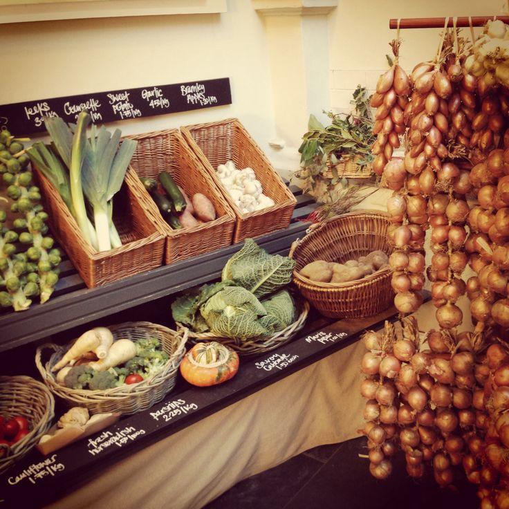 Fresh Veg @ Ruby & White Butchers, Bristol #whiteladies #rubywhite #butchers #veg