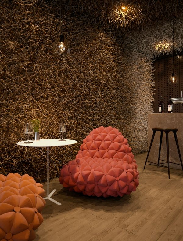 Twister Restaurant Design Team Of Serghii Makhno And Vasiliy Butenko Havecompleted The Interior For A In Kiev Where You C