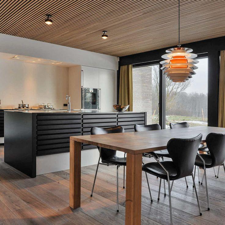 Eksklusivt køkken i nordisk 60'er stil fra uno form | Case