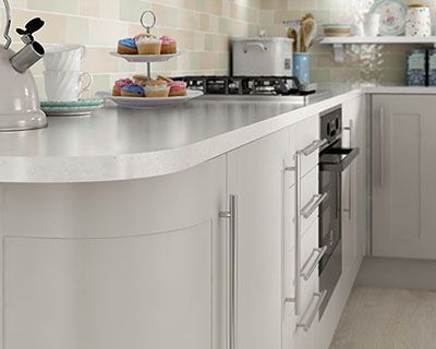 Cashmere units from Wickes