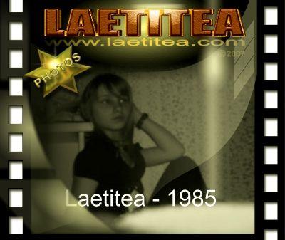 Laetitea photographed in 1985 - Fotografia de Laetitea em 1985 - Laetitea photographiée en 1985