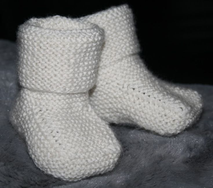 ✰ Skorpionen's hjørne: Stay-on baby booties (babysokker)