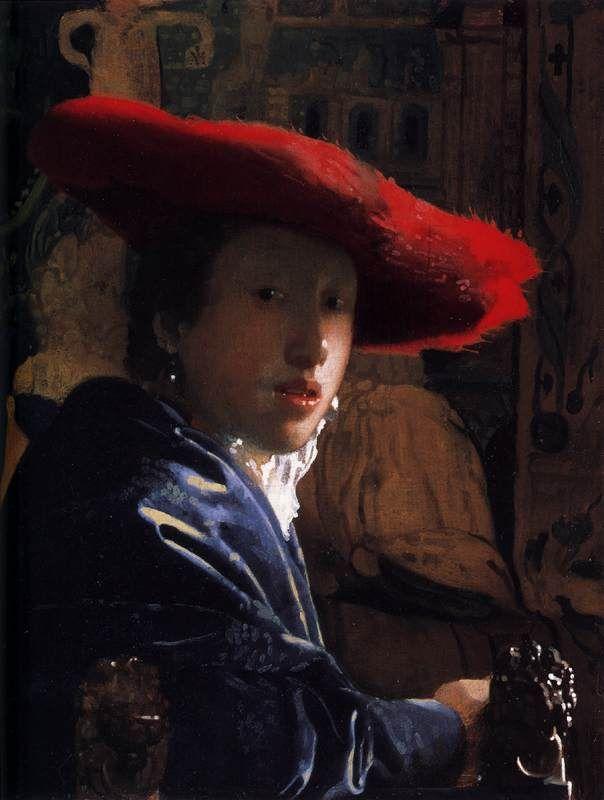 Κορίτσι με το κόκκινο καπέλο. (1665-66)