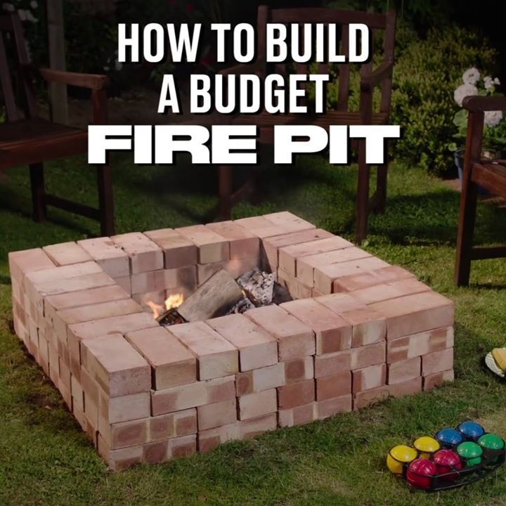 This budget fire pit looks amazing!  Wickes