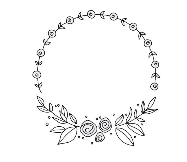 Corona de flores #bordadoamanobolsos #bordadoamanodibujos #bordadoamanoideas #bo…