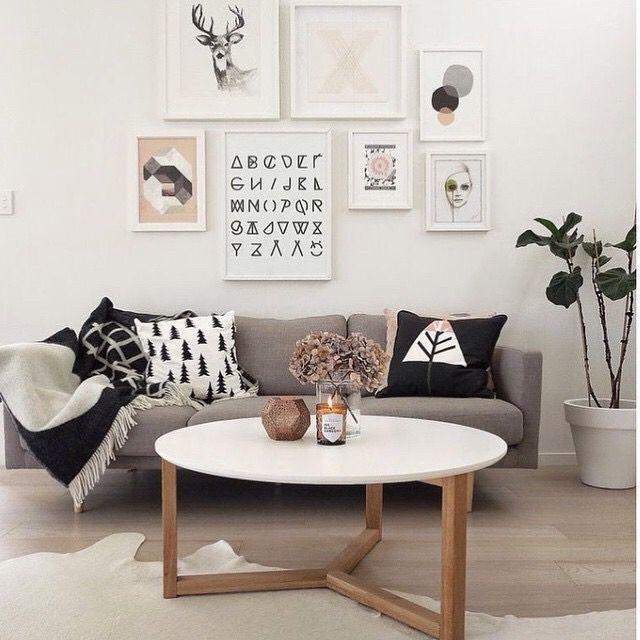 Lounge area styling