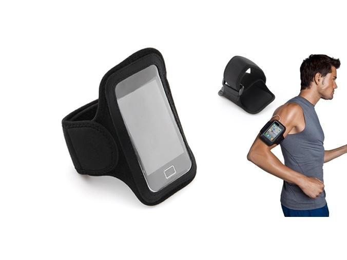 iPhone 4 ve 3G Uyumlu Yürüyüş ve Spor Kol Bandı - 15.17 TL + KDV