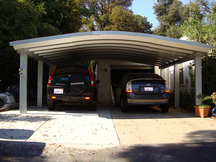 SteelMaster Metal TwoCar Carport Carport designs, Metal