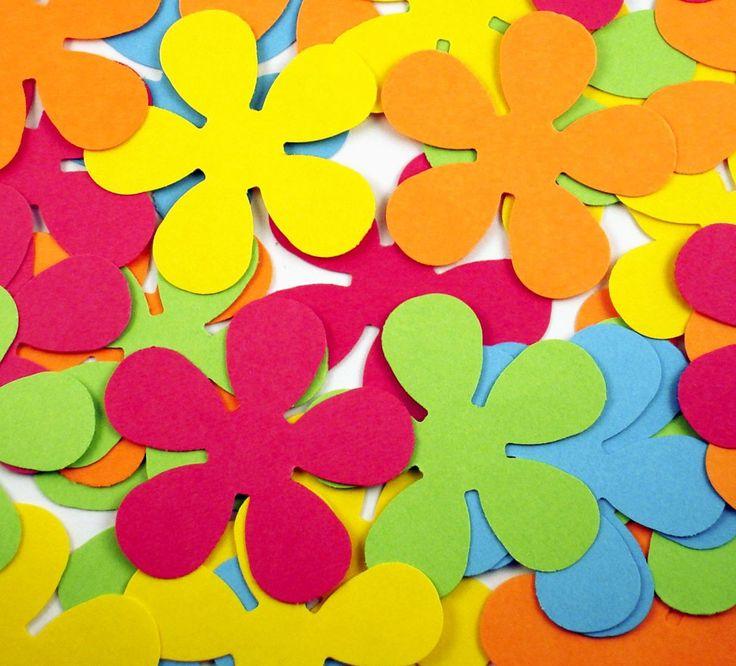 Sterven gesneden papier bloemen Retro bloem in South Beach van funkychickenscoop op Etsy Studio
