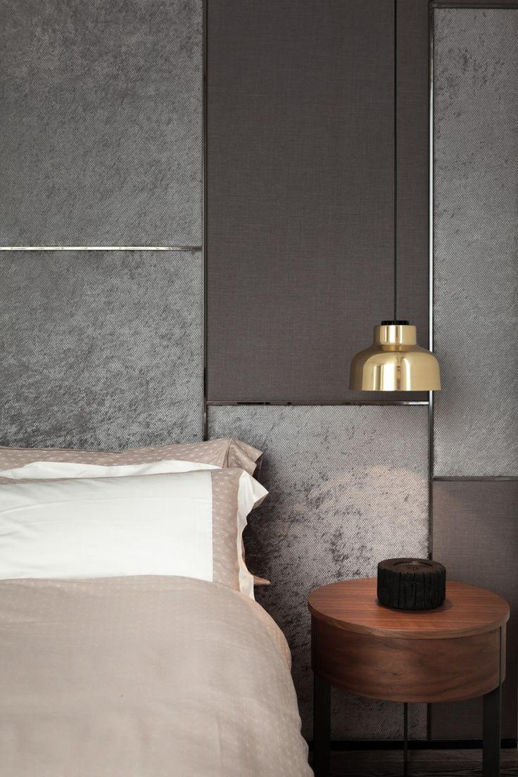 Inspiration ProAchat Design: http://www.proachatdesign.fr/ Tête de lit, matière, suspension, chambre, design, décoration  #design #inspiration #chambre #matiere