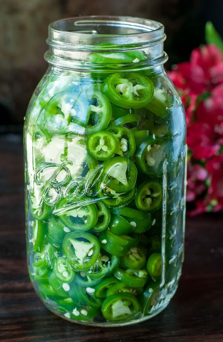 Quick Fridge Pickled Jalapeño Peppers | Recipe | Spicy ...