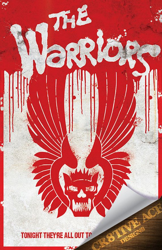 The Warriors Movie Poster Digital Illustration Movie by Cr8tiveACE