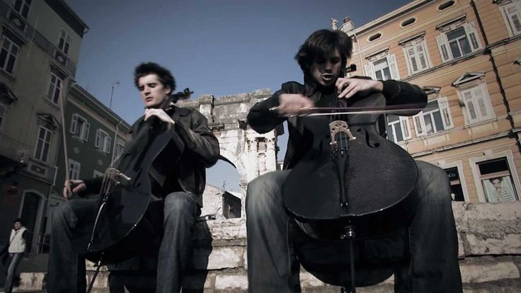 2CELLOS - Welcome To The Jungle [OFFICIAL VIDEO] If you like instrumental and rock you'll like this