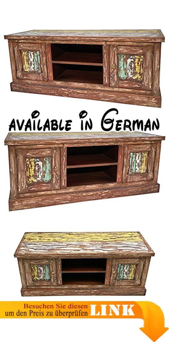B06xzqnsry Tv Lowboard Anrichte Tv Schrank Board Vintage Bunt