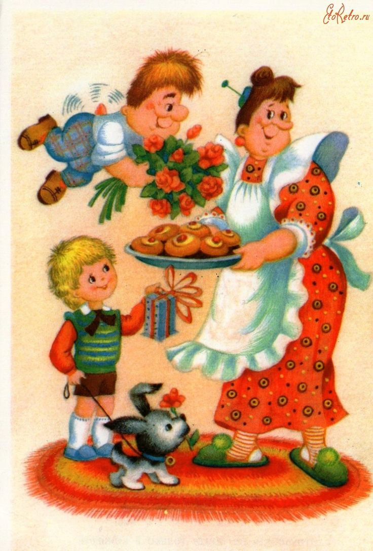 Советские открытки к 8 Марта. - Разное>Ретро открытки - ЭтоРетро.ru - старые фото городов