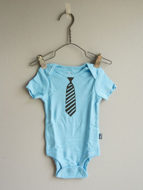 DIY Baby Boy Onesies | Lovely Indeed #baby #diy