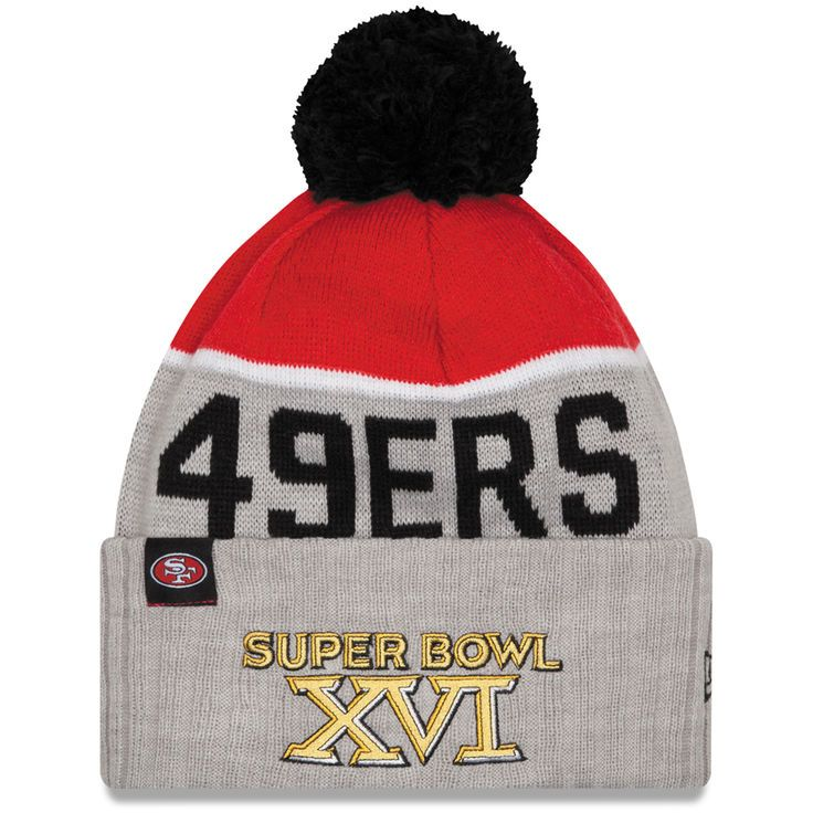 San Francisco 49ers New Era Super Bowl XVI On The Fifty Sport Knit Hat - Scarlet - $24.99