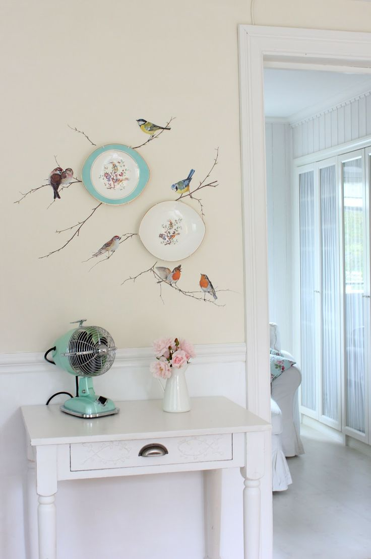 Images About Wall Art On Pinterest Light Yellow Walls - Diy wall decor birds