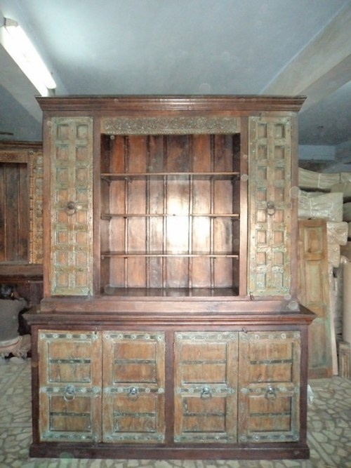 Painted Old World Buffet And Hutch Tuscan Furniture