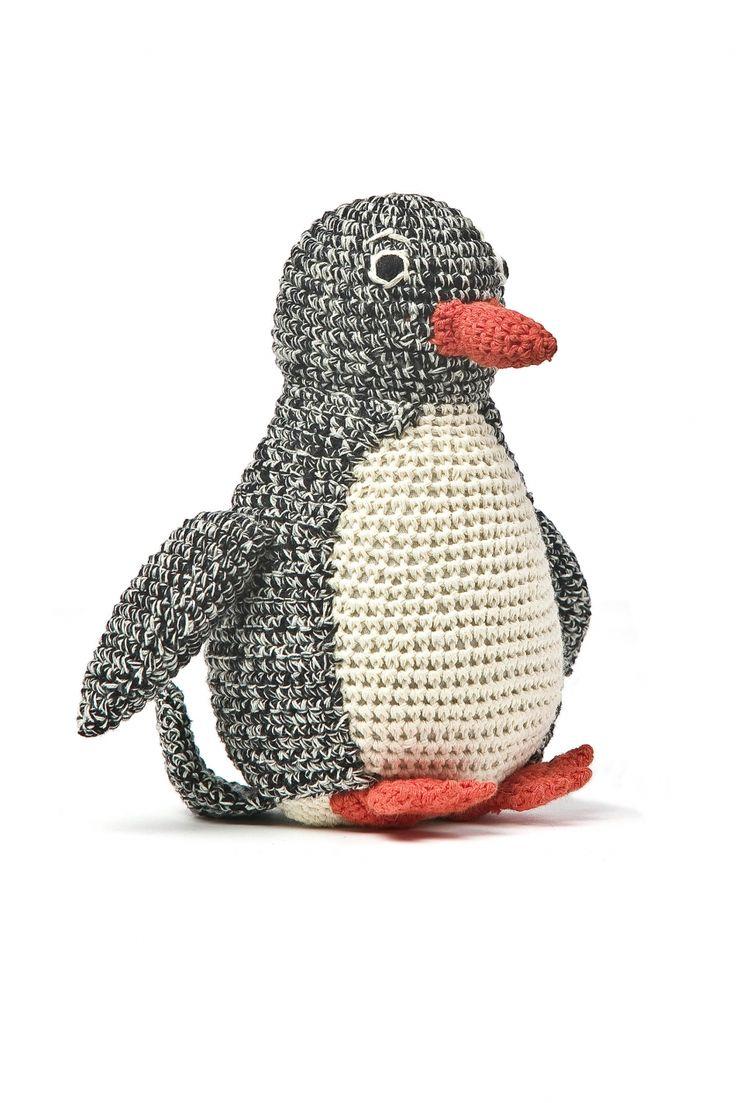 #crochet inspiration Anne-Claire Petit Pinguin black
