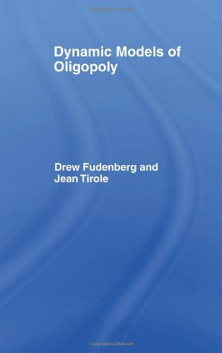 63 best a porta ilustrada nobel de economa images on pinterest dynamic models of oligopoly drew fudenberg and jean tirole fandeluxe Image collections