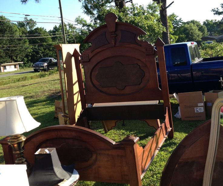 Collectibles and antiques along the 301 Endless Yard Sale in NC -- held the 3rd weekend in June each year.