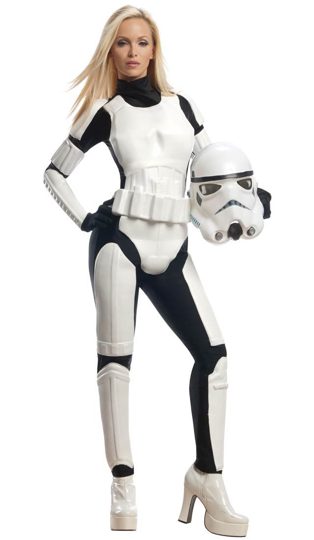 Stormtrooper Sexy Costume. Costume Craze has released a 2013 collection of sexy Star Wars costumes for the ladies. Each costume is available to pre-order online at Costume Craze and will arrive this summer.