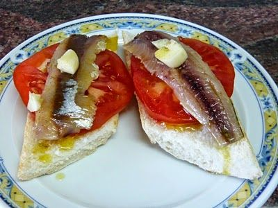 LA WEB DE PURI: Montadito de sardina de cubo