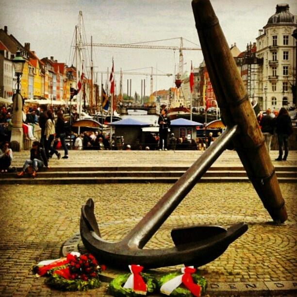 #nyhavn #copenaghen #anchor #port #denmark