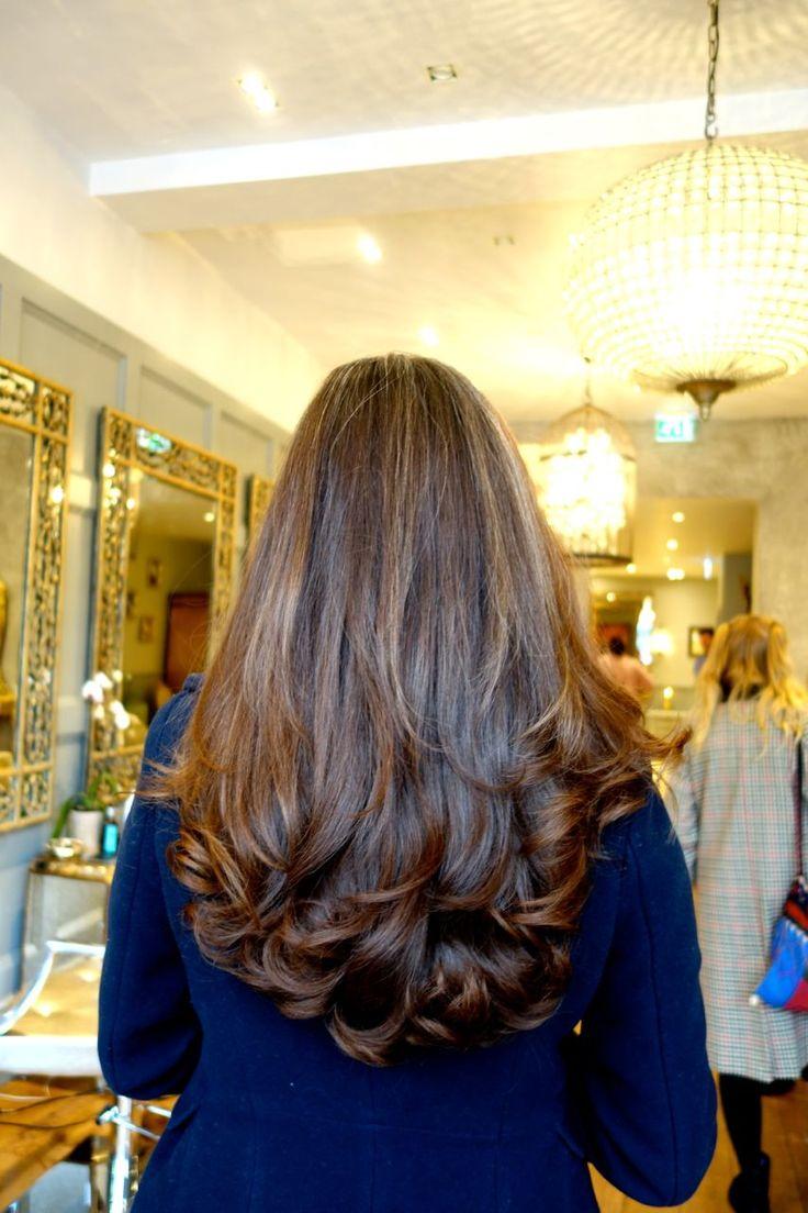 @rosielondoner gorgeous blogger hair #londonblowdry #loosewaves