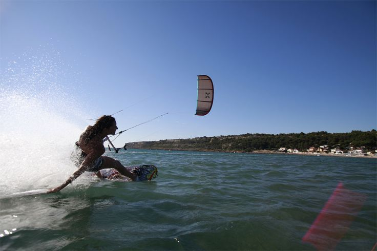 A guide to kitesurfing Leucate-La Franqui; the wind, the hazards, kitesurfing holidays, lessons, gear hire and where to stay and eat.