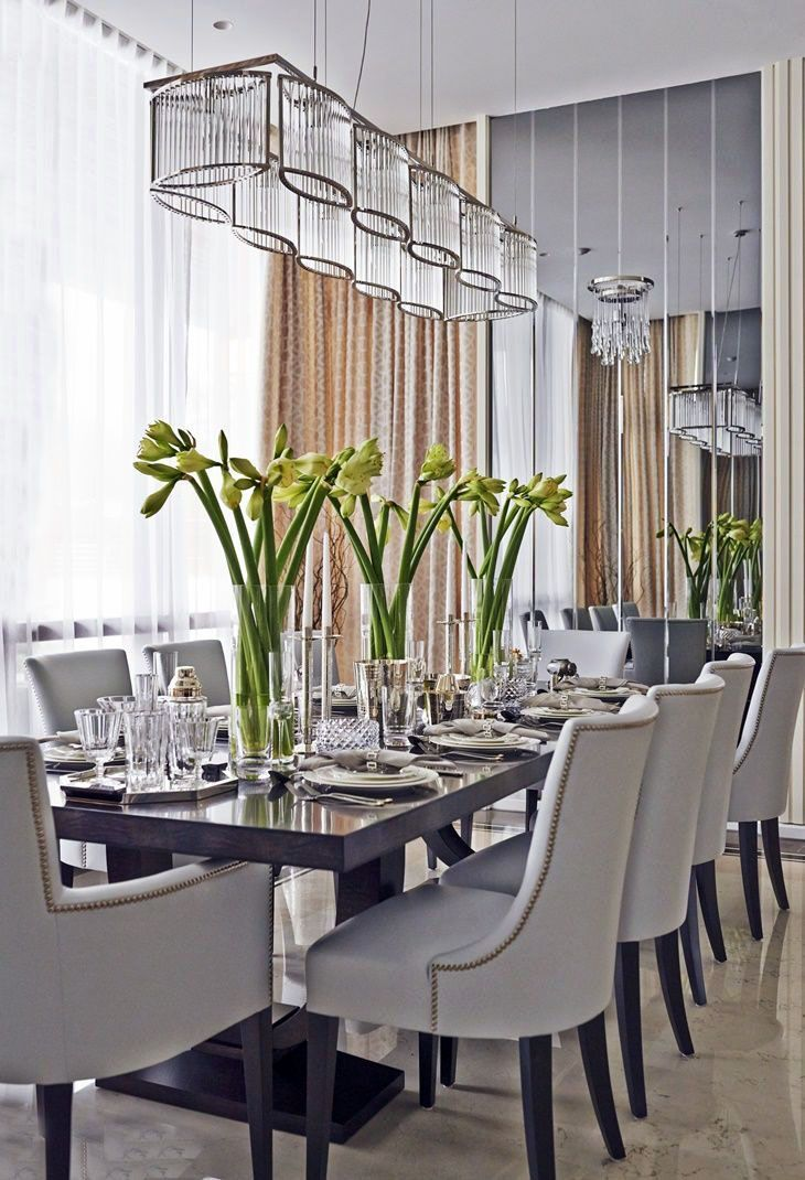 Innovative Suggestions For Dining Room Walls Elegant Dining Room
