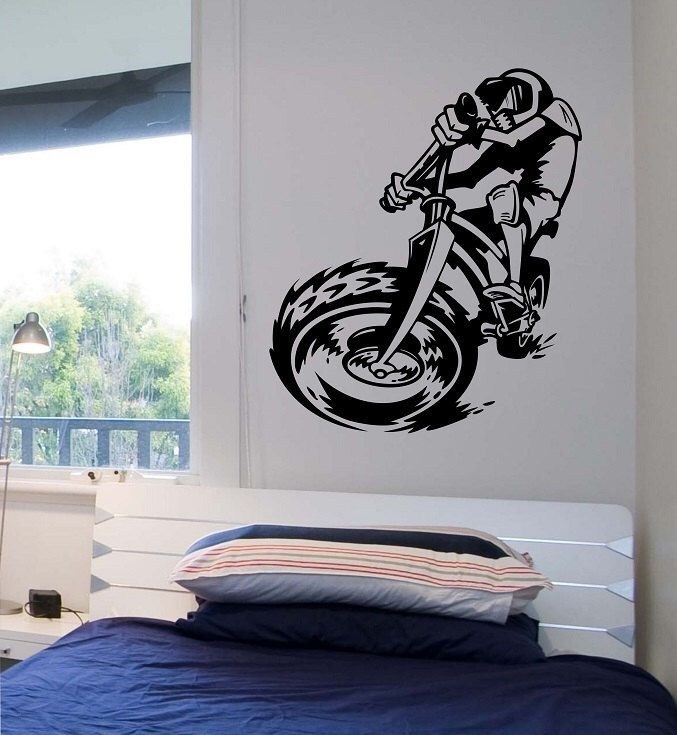 1000 ideas about dirt bike bedroom on pinterest for 70 bike decoration