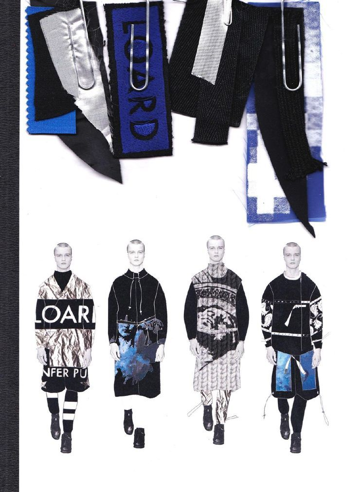 Fashion Sketchbook - fashion illustrations & fabric swatches; graduate fashion design portfolio // Imogine Brown: