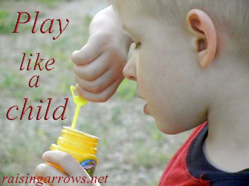 Why you should take time to play with your child.