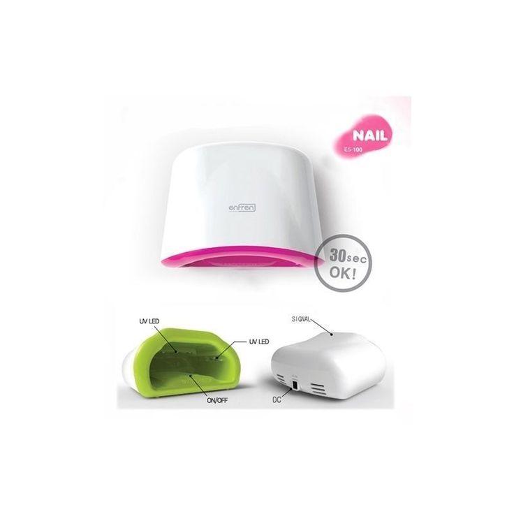 Nail Polish Dryer UV GEL Light LED Lamp Manicure Care Fast Dryer Enfren ES-100 #Enfren