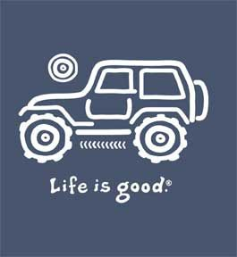 life is good | Life is good Jeep t-shirt mens | Flickr - Photo Sharing!