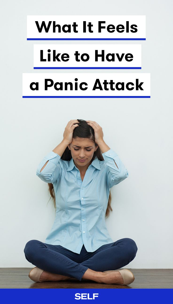 Panic attacks (also called anxiety attacks) are sudden episodes of intense fear that trigger severe physical reactions when there is no real danger or apparent cause. Symptoms of panic attacks are different for everyone but they can include rapid heart rate, sweating, shaking, shortness of breath, hot flashes, and lightheadedness. Here, nine people describe their symptoms and coping mechanisms.