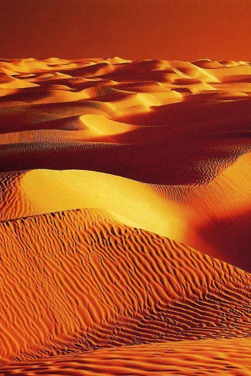 Sahara desert at susnset  - #morocco #sahara #desert Maroc Désert Expérience tours http://www.marocdesertexperience.com