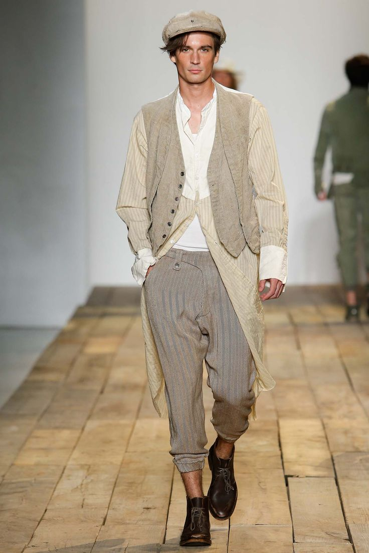 Greg Lauren Spring 2016 Menswear Collection Gallery D I Pinterest
