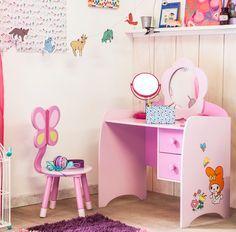 ¡El #Regalo perfecto que todas soñaron de pequeñas! #Tocador #Niñas #Rosa #Ideas #Navidad