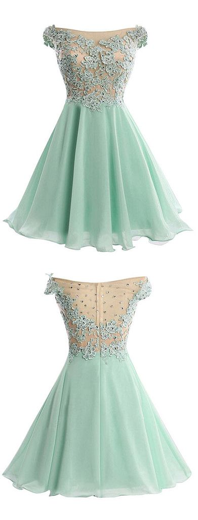 Homecoming Dress | www.dresstells.com/a-line-off-the-shoulde… | Flickr