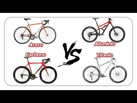 CARBONO, TITANIO, ALUMINIO o ACERO - Material para bicis - Videos de Ciclismo