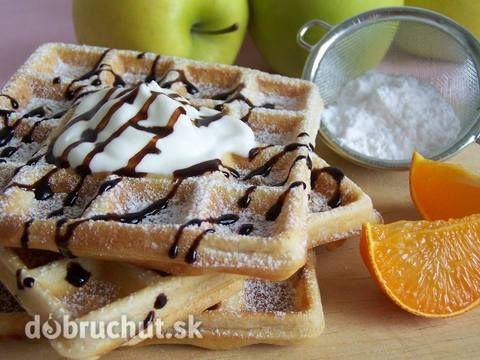 Najlepšie wafle - vhodné kedykoľvek dostanete chuť
