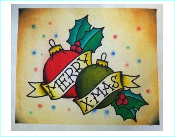 25 Inspiring Christmas Tattoos Designs