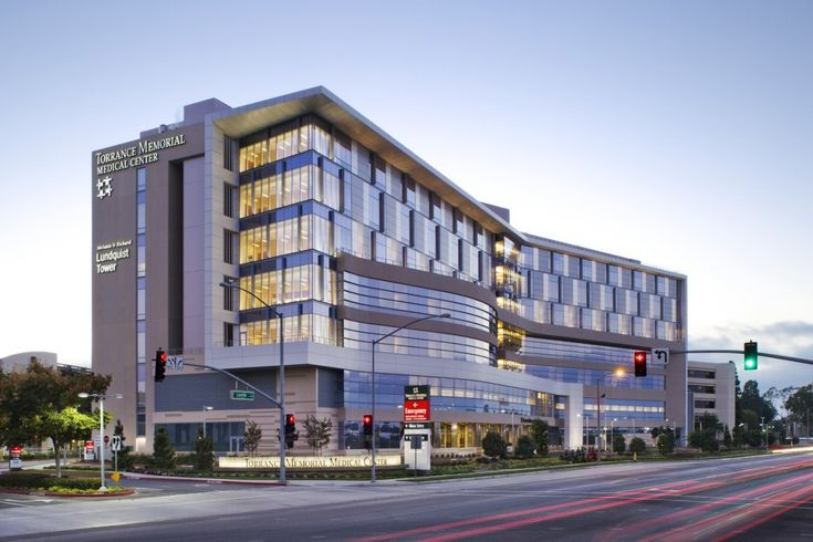 Lundquist Tower, Torrance Memorial Medical Center - designed by HMC Architects #healthcare #architecture #design