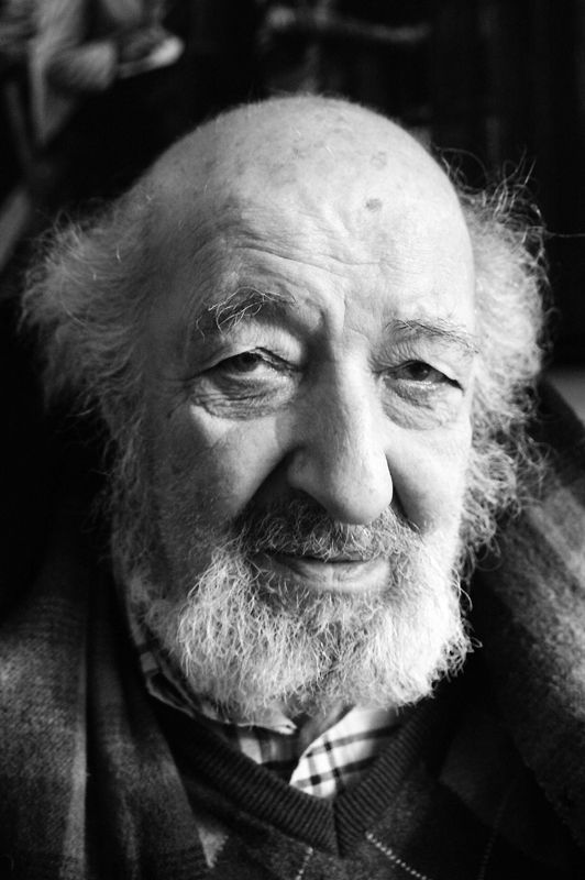 "Ara Güler (1928) - Armenian-Turkish photojournalist, nicknamed ""the eye of Istanbul"". Photo © Iannis Pledel"