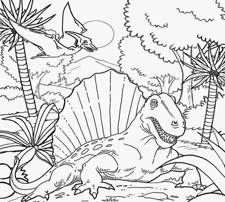 triassic period coloring page bing images dino unit pinterest coloring search and image. Black Bedroom Furniture Sets. Home Design Ideas